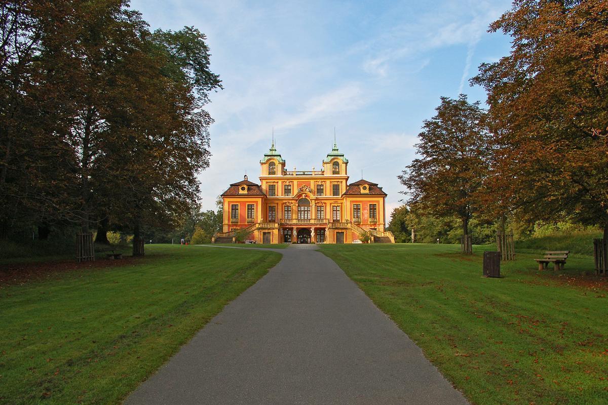Südseite von Schloss Favorite Ludwigsburg