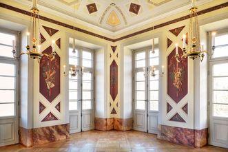 Schloss Favorite Ludwigsburg, Jagdzimmer