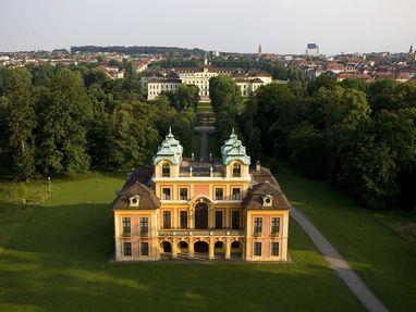 Schloss Favorite Ludwigsburg, von oben