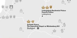 """journey map """"Stuttgart & enviroment"""""""