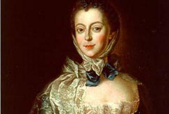 Porträt von Elisabeth Friederike Sophie, um 1750. Das Gemälde wird Anna Rosina Lisiewska zugeschrieben