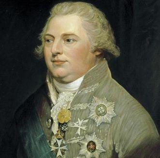 Gemälde von König Friedrich von Württemberg als Kronprinz, vor 1797