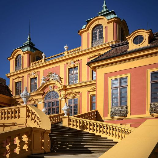 Ludwigsburg Favorite Palace, Exterior view