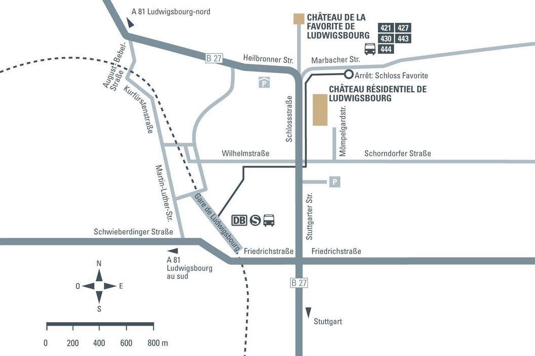 Château Favorite de Ludwigsbourg