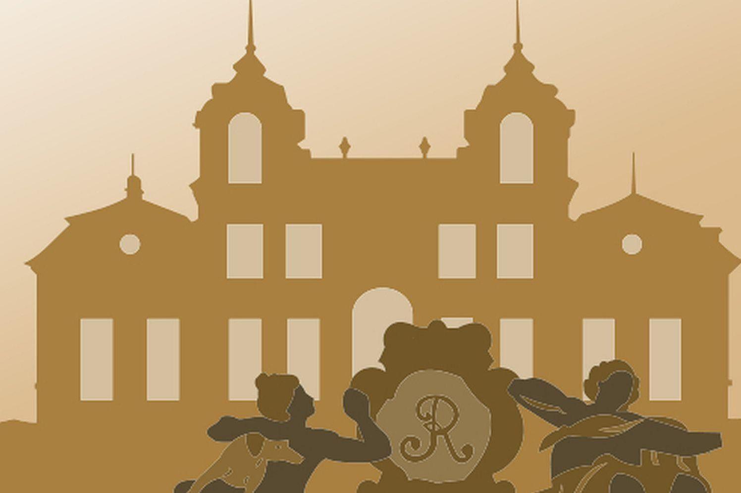 Symbol für Standardführungen in Schloss Favorite Ludwigsburg