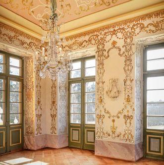 Schloss Favorite Ludwigsburg, Südwestliches Zimmer