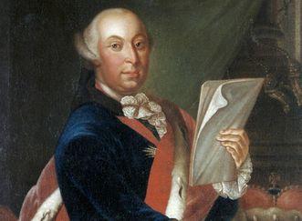 Bildnis von Herzog Carl Eugen mit Schärpe und Orden, um 1760