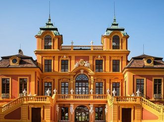 Schloss Favorite Ludwigsburg, Außenfassade