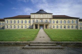 Schloss Hohenheim in Stuttgart, erbaut von 1772 – 1793