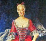 Porträt der Mutter Wilhelmine von Brandenburg-Bayreuth, von Antoine Pesne, 1750