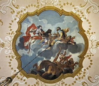 Schloss Favorite Ludwigsburg, Nordwestliches Zimmer