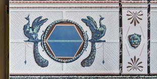 Schloss Favorite Ludwigsburg, Westliches Zimmer, Detail