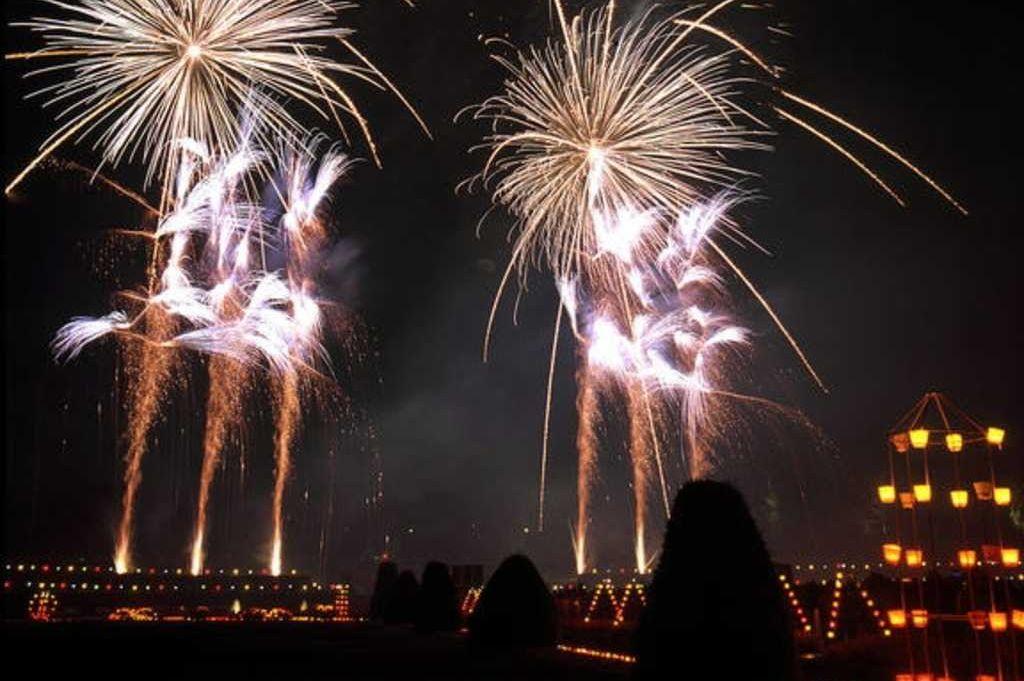 Feuerwerk im Blühenden Barock, Residenzschloss Ludwigsburg
