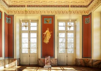 Schloss Favorite Ludwigsburg, Pompejanisches Zimmer
