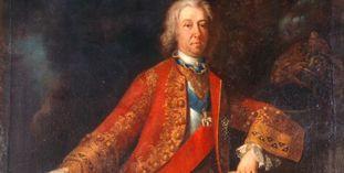 Porträt von Herzog Eberhard Ludwig, Erbauer von Schloss Favorite Ludwigsburg.