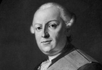 Herzog Carl Eugen von Württemberg, Ölgemälde von Jakob Christian Schlotterbeck, 1782